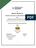 Mahindra Navistar Transportation project