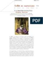 17. Derrida, Jacques - Sobre la mentira en la política