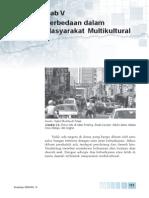 5. Perbedaan Dalam Masyarakat Multikultural