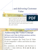 2. Creating and Delivering Value (1)
