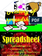 History of Spreadsheet
