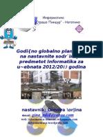 Programa Za Nastavata Po Informatika Za 2012 - 2013