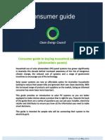 Solar PV Consumer Guide Vol17 21 May 2012