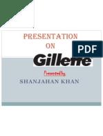presentation on gillette