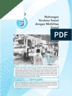 3. Hubungan Struktur Sosial Dengan Mobilitas Sosoal
