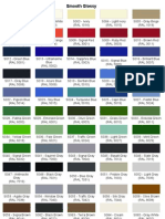 Color List Equivalence IP - RAL | Blue | Yellow