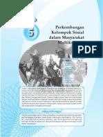 5. Perkembangan Kelompok Sosial Dalam Masyarakat Multikultural