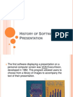 History of Software Presentation