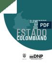 Elementos Basicos Sobre El Estado Colombiano Dnp 2010