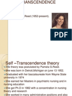 Self –Transcendence theory in nursing