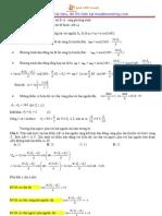 tổng hợp giải chi tiết các câu dao động sóng cơ khó vật lý 12
