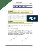 Notes Chapter 3_Vectors