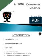 Tivo Consumer bahavior 2002
