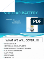Nuclear Battery