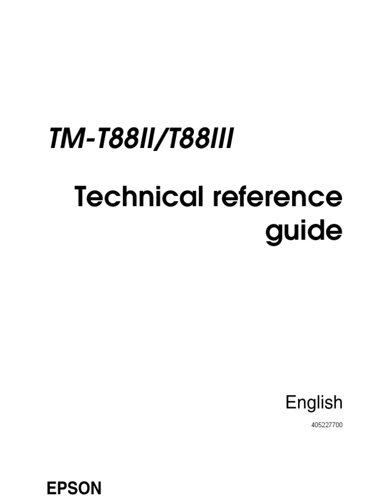 Epson tm-t88iip white parallel printer (tm882pnw) tm-t88ii.