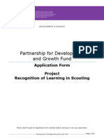 Application Form Recognition of Learning in Scouting-2