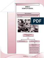 2. Konflik Sosial