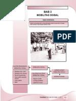 3. Mobilitas Sosial