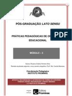 PRÁTICAS PEDAGÓGICAS DE ORIENTAÇÃO EDUCACIONAL--MÓDULO 3