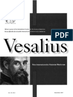 """New Spanish facsimile poetry work by  Servetus """"Portraits or figures from the stories of the Old Gospel. Spanish Summary"""" reviewed by the president of the ISHM, in Vesalius Journal."""