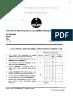 2012 PSPM Kedah Sejarah 2 w Ans