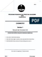 2012 PSPM Kedah Kimia 1 w Ans