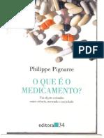 O que é medicamento? Um objeto estranho entre ciência, mercado e sociedade