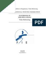Handbook of Specification Video Refereeing