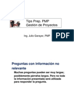 Tips Prep PMP