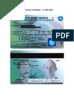 New Airman Certificate-Noaddr - 11 September 2006