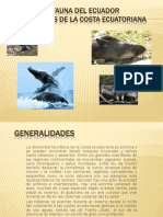 Animales de La Costa Del Ecuador