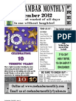 Costambar Monthly September 2012