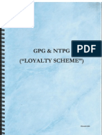 Loyalty Scheme in Parts With M.O.A in Parts