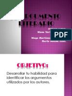 El Argumento Literario.