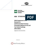 AISI 2004 Supplement to PM Standard and Commentary
