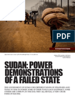 Sudan, The Facistic Power Demonisteration of a Failed State