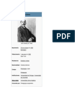 1 John Dewey