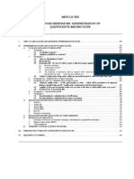 IMF Article Xiii - Non-discriminatory Administration of Quantitative Restrictions