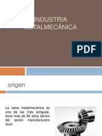 Industria metalmecánica