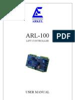 ARL-100 USER MANUAL V21