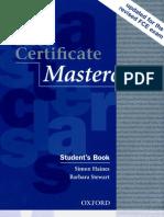 First Certificate Masterclass Student's Book