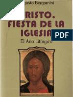 Bergamini, Augusto - Cristo Fiesta de La Iglesia