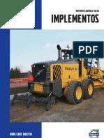 Volvo-Implementos de Motoniveladoras