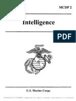 MCDP 2 Intelligence
