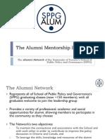 The Alumni Mentorship Initiative - Presentation (Aug 21 2012)