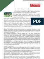 _Grenelle de l'Environnement 2007 _article Moniteur
