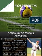 La Tecnica Deportiva(2012)