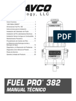 F1272SPAN Manual Technico FP382 Espanol