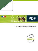 Grenelle Déchets _rapport Final