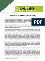 Grenelle Economie & Emplois _synthèse